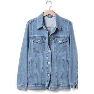 GAP Long Denim Jacket
